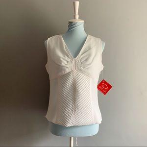 OSCAR DE LA RENTA textured blouse